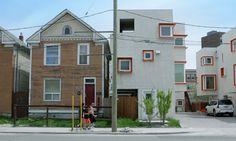 Winnipeg innovative social housing, architect wrong drink and drugs