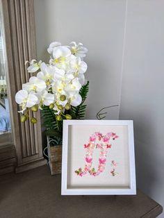 "Fortissimo Butterfly Art, Music,Wall Art, Pink,Japanese Yuzen Washi Art, Home Decor,Origami Art, Framed Art, Gift, Free Shipping, 10""x10""x2"" Music Wall Art, Japanese Origami, Butterfly Art, Paper Dimensions, Origami Paper, Rice Paper, Washi, Paper Art, Framed Art"