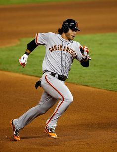 Brandon Crawford #35 Of The San Francisco Giants