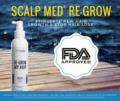 The ONLY Patented Hair Regrowth Treatment System in the world that produces actual results. Scalp Med, Hair Scalp, Hair Regrowth, Beauty Tips, Beauty Hacks, New Hair Growth, Stop Hair Loss, Thinning Hair, Brushing