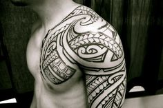 One of the hottest place for a guy to have a tattoo. (not necessarily tribal)