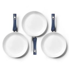 Ceramic Pans Blue White 3Pk, 64€, now featured on Fab.