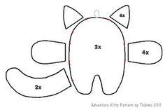 Adventure Kitty Pattern by *Tedimo on deviantART