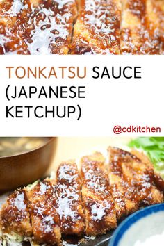This three-ingredient sauce could not be simpler! Ketchup, soy sauce and Worcestershire are all you need for a Tonkatsu sauce ready to top some crispy pork and a hot bowl of ramen. Recipes With Soy Sauce, Chicken Sauce Recipes, Honey And Soy Sauce, Sauce For Chicken, Homemade Teriyaki Sauce, Homemade Sauce, Pork Tonkatsu Sauce Recipe, Big Fernand, Tonkatsu Ramen