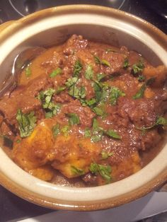 Beef and Plantain Curry
