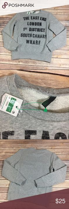 """NEW NWT Benetton London Sweatshirt XL 10/11 Years NEW NWT Benetton London Sweatshirt XL 10/11 Years  Super cute!  Gray with pocket inset in the front.  Think it's a girls but could be unisex.  Says """"The East End London 1st District South Canary Wharf"""".  #new #nwt #gray #fleece #sweatshirt #benetton #london #uk #europeantour #eastend #1stdistrict #southcanarywharf #winter #winteriscoming #fall #itsfallyall United Colors Of Benetton Shirts & Tops Sweatshirts & Hoodies"""