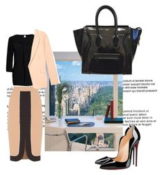 """""""Business Style"""" by emily-677 ❤ liked on Polyvore featuring Canvas by Lands' End, Oasis, Equipment and Christian Louboutin"""