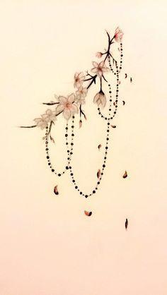 Stunning Cherry Blossom Tattoo Designs For Women