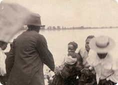 African American baptism in the Mississippi River. #mississippiriver #natchez #natchez300