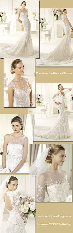 Pronovias-2013 #wedding collection - Find It For Weddings.com