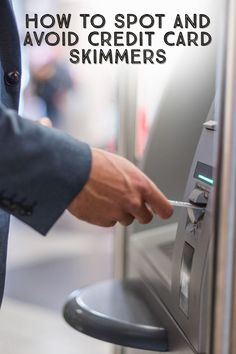 Criminals can easily capture your credit and debit card information with small devices called skimmers and their even more insidious cousins, shimmers. Don't fall victim to these sneaky attacks! Secure Digital, Personal Safety, Computer Lab, New Technology, Cousins, Mud, Woodworking Projects, Geek, Hacks
