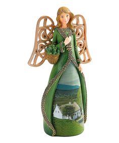 Loving this Irish Countryside Angel Figurine on #zulily! #zulilyfinds