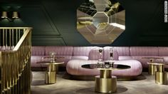 The Jane, a restaurant in Antwerp, designed by Piet Boon, and Dandelyan, a bar at the Mondrian London, designed by Tom Dixon's Design Research Studio are the overall winners of the 2015 Restaurant & Bar Design Awards.