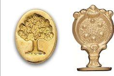 Wax Seal  Oak Tree/Tree of Life Brass handle Stamp