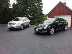 Cadillacs SRX and XTS....