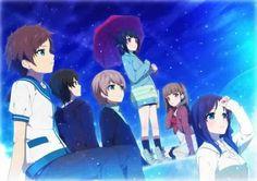 Hikari, Tsumugu, Kaname, Miuna, Sayu, and Chisaki        ~Nagi no Asukara