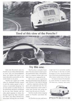23 Brilliant Vintage Porsche Ads | Airows Vintage Porsche, Print Ads, Vintage Prints, Cars And Motorcycles