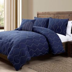 Nora 4-pc. Embroidered Comforter Set  found at @JCPenney
