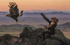 The eagle huntress by Asher Svidensky - National Geographic Photo contest