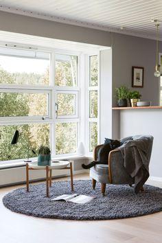 Seks stoler ble til ny førsteetasje - Byggmakker+ Home Organization, Home, Windows, Remodel, Wall, Glass