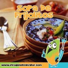 Una comida muy típica en los hogares salvadoreños es la deliciosa Sopa de Frijoles #ElSalvador