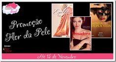 O blog Sobre Amores e Livros tá sorteando três livros da coleção Flor da Pele, da editora Harlequin! Vai até amanhã! Corre lá ;)  http://amoreselivros.blogspot.com.br/2014/10/promocao-flor-da-pele.html