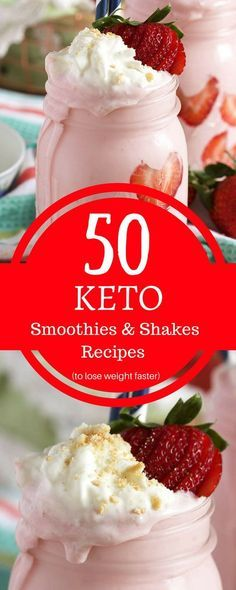 Keto Smoothies And Shakes Recipes To Lose Weight Faster. #lowcarbrecipes #ketogenic