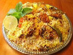 "Chicken biryani is among the ancient recipes of Indian cuisine. The recipe has Iranian origins and the word ""biryani"" is derived from the Persian word ""berya,"" which means roasted."