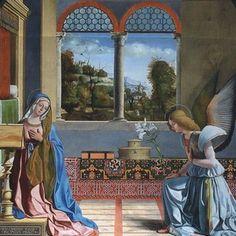 Andrea Previtali, Annunciazione, Vittorio Veneto, chiesa di Santa Maria del Meschio