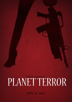 Planet Terror Horror Movie Posters, Horror Movies, Movie List, Movie Tv, Movie Covers, Quentin Tarantino, Cool Posters, Photoshop, Good Movies