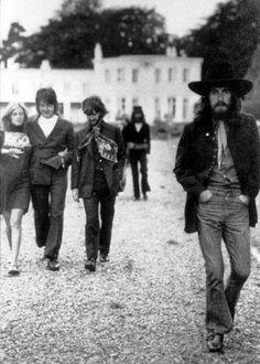 Beatles final photo shoot on 8/22/1969