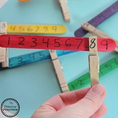 Looking for a great Missing Number Math Activity for kids? This takes just seconds to set up, and is fun and interactive. Make yours today.