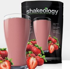 trawberries and Cream #Recipe  1 serving of Strawberry Shakeology 1 cup unsweetened almond milk ¼ cup low-fat ricotta cheese 1 cup ice  Blend into yumminess!  Get Shakeology at http://exercise2day.com/nutrition/shakeology