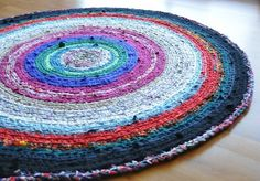 Found this tutorial for making rag rugs!  Oh yes, I am SO going to teach myself to do this craft! http://goodtimesithinkso.blogspot.com/2009/10/circular-crochet-rag-rug-instructions.html
