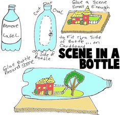 Plastic Bottle Crafts for Kids : Ideas for Easy Arts and Crafts ...