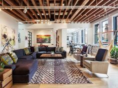 Manhattan loft with five skylights seeks $3.15M - Curbed NYclockmenumore-arrow : This apartment is full of skylights and closet space