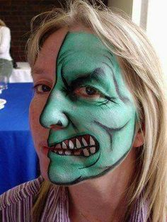 Maquillage monstre.