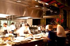 Open Kitchen Restaurant Design of Luma on Park Avenue, Orlando - DESIGN. IDEAS. INSPIRATION. | Designers Raum