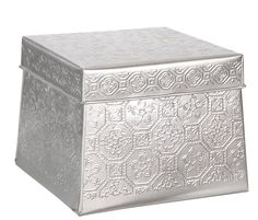 Metalen Opbergdoos met Print Set van 2 €10,99 - Leenbakker | Metal Storage Box with print|