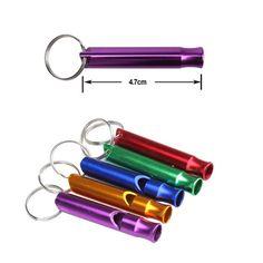 Outdoor Metalen Multifunctionele Whistle Hanger Met Sleutelhanger Sleutelhanger Voor Outdoor Survival Emergency Mini size fluitjes Outdoor kit