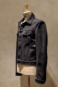 Carol Christian Poell Ss18 Overlock, Dead End Denim Jacket