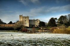 Frosty Morning at Sizergh Castle, Cumbria,England