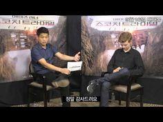mazerunner : scorch trial - Thomas brodie sangster(newt) x Kihong lee(minho) interview