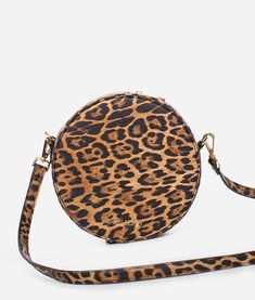 The Circle Bag - Leopard – Fawn Design