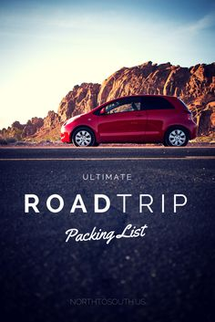 The Ultimate Road Trip Packing List with Free Downloadable Checklist | North to South Travel