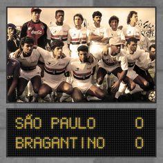 Campeão Brasileiro de 1991: Zetti, Ronaldão, Leonardo, Ricardo Rocha, Zé Teodoro e Antônio Carlos; Müller, Raí, Macedo, Bernardo e Cafu