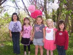 A Picture Perfect Pink Party (A blog post about a little girl's birthday party with do-it-yourself ideas!)