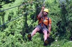 Our tour guide for ziplining in PR. Great time!!