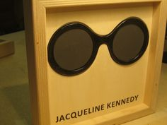 Famous Glasses: JACQUELINE KENNEDY