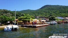 Restaurantes na Costa da Lagoa - Florianópolis - Parada 16 – restaurantes e trilha para a cachoeira